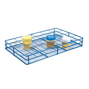 COATED WIRE RACK FITS BOTTLES 55-58mm - URINE CONTAINERS