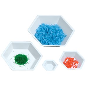 HEXAGONAL WEIGHING BOATS