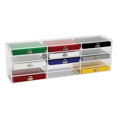 STORAGE RACK FOR MICROSCOPE SLIDE BOX