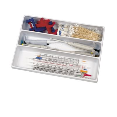 3 COMPARTMENT DRAWER ORGANIZER / TRAY