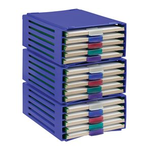 20-PLACE SLIDE TRAY RACKS