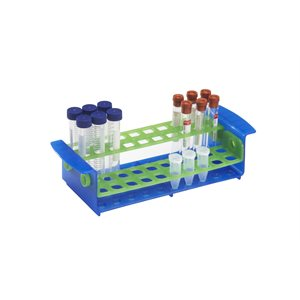 Customizable 5 mL, 15 mL, 17 mm TUBE RACK & 10-17 mm Tube Rack