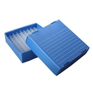 FREEZER BOX,0.2 ML,BLUE,10 / PK