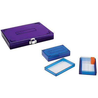 LOW TEMP MICROSCOPE SLIDE BOX