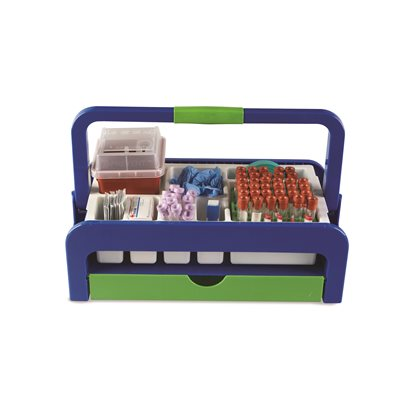DROPLET PHLEBOTOMY COLLECTION TRAY with DRAWER