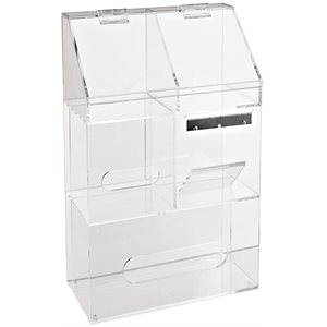 CLEARLY SAFE® WORKSTATION STORAGE BIN